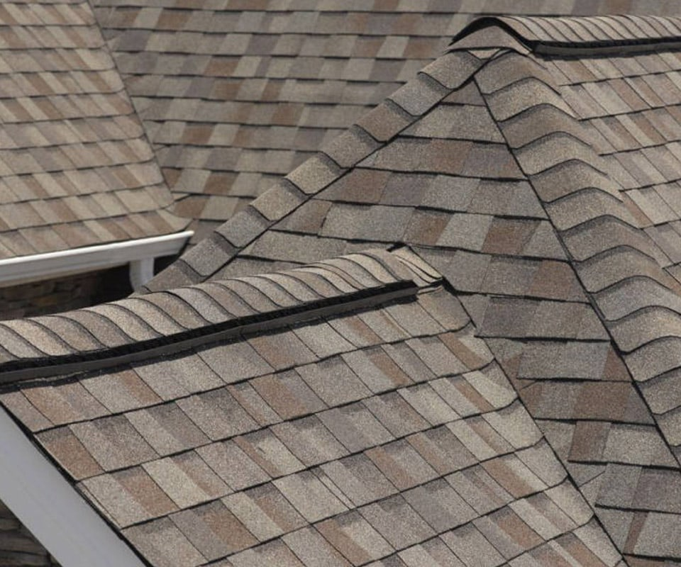 A roof with high quality Certainteed shingles